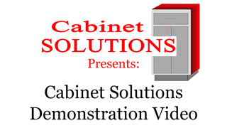 This is a quick demonstration of laying out a kitchen in Cabinet Solutions