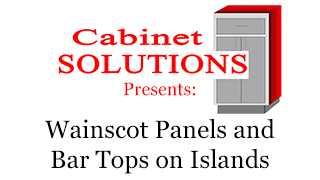 Howto: Wainscot Panels and Bar Tops on Islands